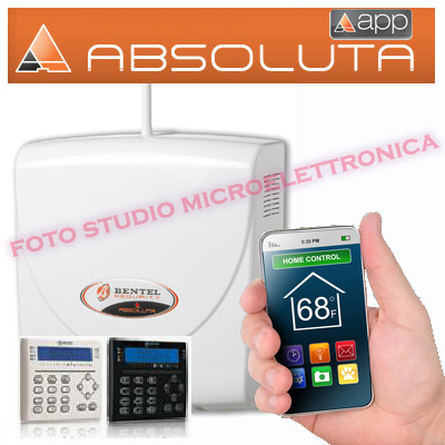 Kit antifurto completo bentel con centrale absoluta for Bentel absoluta 42 prezzo
